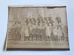 Photo Classe Non Identifiée Circa 1900 - Personas Anónimos