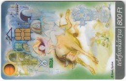 HUNGARY E-789 Chip Matav - Signs Of Zodiac, Taurus - Used - Hongrie