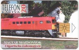 HUNGARY E-808 Chip Matav - Traffic, Locomotive - Used - Hongrie