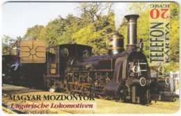 HUNGARY E-809 Chip Matav - Traffic, Steam Locomotive - Used - Hongrie