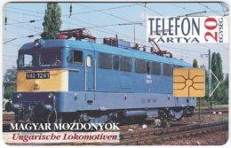 HUNGARY E-810 Chip Matav - Traffic, Locomotive - Used - Hongrie