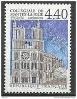 """FR YT 3180 """" Collégiale De Mantes-la-Jolie """" 1998 Neuf** - France"""