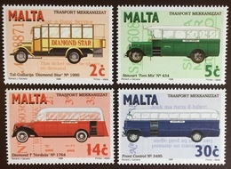 Malta 1996 Buses MNH - Malta