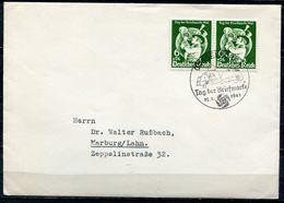 """German Empires,DR 1941 First Day Cover Mi.Nr.762""""Tag Der Briefmarke,Day Of Stamps"""" Mit ESST""""Düsseldorf""""1 FDC - Alemania"""