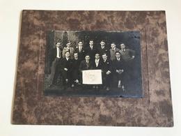 Photo Banquet Club Des 13 - 30 Octobre 1927 - Anonymous Persons