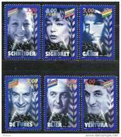 """FR YT 3187 à 3192 """" Acteurs Du Cinéma Français """" 1998 Neuf** - France"""