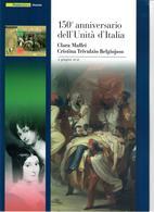 ITALIA 2011 -  150° UNITA' D'ITALIA - CLARA MAFFEI E CRISTINA TRIVULZIO BELGIOJOSO - SENZA SPESE POSTALI - 6. 1946-.. Repubblica
