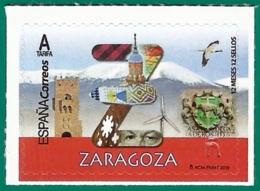 España. Spain. 2019. 12 Meses, 12 Sellos. Zaragoza - 1931-Heute: 2. Rep. - ... Juan Carlos I