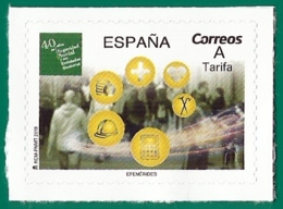 España. Spain. 2019. 40 Años De Seguridad Social Y Sus Entidades Gestoras - 1931-Hoy: 2ª República - ... Juan Carlos I