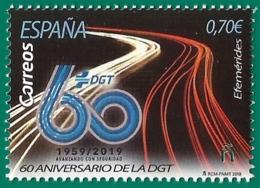 España. Spain. 2019. Efemérides. 60 Aniversario De La DGT (1959- 2019) - 1931-Hoy: 2ª República - ... Juan Carlos I