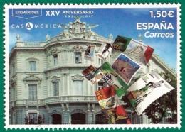 España. Spain. 2019. Efemérides. XXV Aniversario Casa América (1992-2017) - 1931-Hoy: 2ª República - ... Juan Carlos I