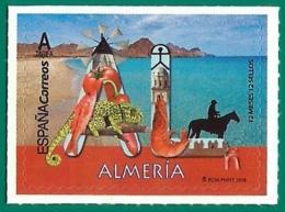 España. Spain. 2019. 12 Meses, 12 Sellos. Almeria - 1931-Hoy: 2ª República - ... Juan Carlos I