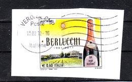 Italia   -    2010. Spumante , Cantine Berlucchi. Sparkling Wine, Berlucchi Wineries - Fabbriche E Imprese
