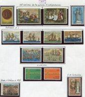 14001 GRECE Collection Vendue Par Page N° 1040 - 1053 + 1057/62  */ **   1971  TB/TTB - Grèce