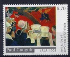 """FR YT 3207 """" Tableau Paul Gauguin """" 1998 Neuf** - France"""