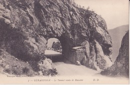 CPA -  7. GERARDMER  - LE TUNNEL ROUTE DE MUNSTER - Gerardmer