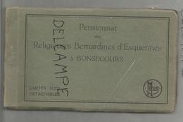 Pensionnat Des Religieuses Bernardines D'Esquermes à Bonsecours. Carnet Incomplet De 14 Vues. - Péruwelz