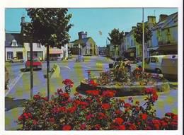 CPM/CPSM - BARNEVILLE - CARTERET -le Bourg De Barneville Et L'église - Barneville