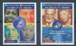 "FR YT 3208 & 3209 "" Droits De L'Homme "" 1998 Neuf** - France"