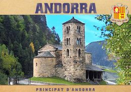 1 AK Andorra * Romanische Kirche Sant Joan De Caselles Im Dorf Canillo - Seit 1999 Auf Der UNESCO Tentativliste * - Andorra