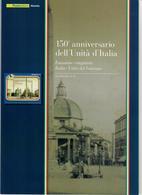 ITALIA 2011 -  150° UNITA' D'ITALIA - CONGIUNTA ITALIA CITTA' DEL VATICANO  - SENZA SPESE POSTALI - 6. 1946-.. Republic