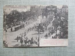 CPA 54 LUNEVILLE 10 AOUT 1919 DEFILE DES DRAGONS PLACE LEOPOLD - Luneville