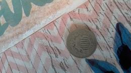 5cts état Unis 1867 - 1866-83: Shield (Écusson)