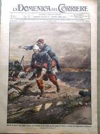 La Domenica Del Corriere 1 Novembre 1914 WW1 Raymond Asti Sardegna Indiani Spie - Guerra 1914-18