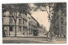BARCELONA : CALLE CONSEJO DE CIENTO  1910 - Barcelona