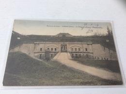 38 - CORBAS Le Fort Colorisée écrite - Autres Communes