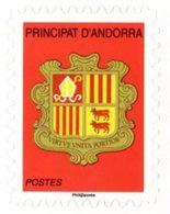 ANDORRE FRANCAIS 1v/Carnet Blason Rge Adh.2016 Neuf ** MNH - French Andorra