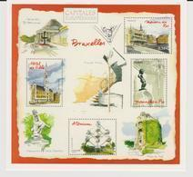 Entier Postal CP MonTimbraMoi - International - Bruxelles, Capitales Européennes- Timbre Manneken Pis - PAP : Altri (1995-...)