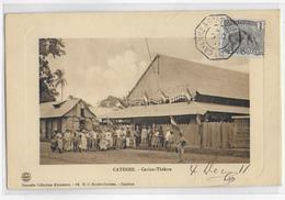 1911 - GUYANE - RARE CARTE De CAYENNE Avec OBLITERATION MARITIME CAYENNE à FORT DE FRANCE - NON VOYAGEE - Cayenne