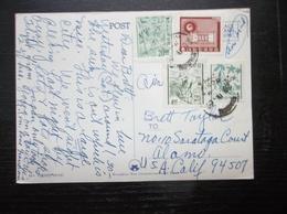 Korea, South, R.O.K.: 1969 Air PPC To USA (#RR2) - Korea, South