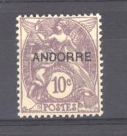 Andorre  :  Yv  6  * - Unused Stamps