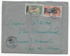 1922 - TOGO - ENVELOPPE De LOME Avec CACHET ALLEMAND => CLERMONT-FERRAND - Togo (1914-1960)