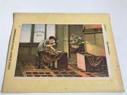 Protege Cahier - Connaissances Utiles Et Leçons De Choses - Le BATTEUR D'OR - Buvards, Protège-cahiers Illustrés