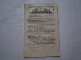 Loi An IX:Ventes D'objets Militaires.Prisons De Gand & Vilvorde.Foires Pomponne,Louhans,Moustier,Trèbes.Bois Pour Paris - Décrets & Lois