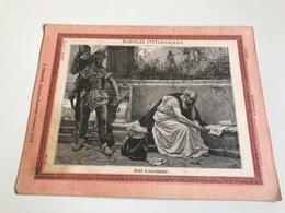 Protege Cahier - Sciences Pittoresque - MORT D'ARCHIMEDE - J. Chanard LYON - V