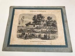 Protege Cahier - Sciences Pittoresque - Les HEMISPHERES De MAGDEBOURG - J. Chanard LYON - V