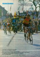CYCLISME : PHOTO (1982), Paris-Bruxelles, Victoire D' Hanegraaf, Jules, Alsenberg, Bière Jupiter, Beucherie, 4 Pages - Radsport