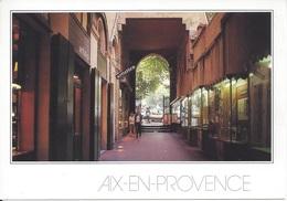 CPM France 13 Bouches Du Rhône Aix En Provence Galerie Marchande - Aix En Provence