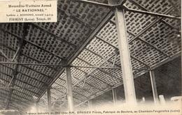 """FIRMINY HOURDIS TOITURE ARME """"LE RATIONNEL"""" TRAVAUX EXECUTES EN 1912 CHEZ MM BARBIER AU CHAMBON-FEUGEROLLES - Firminy"""