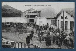 PAMIERS - Usine Métallurgique - La Sortie - Pamiers