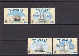 Tuvalu Nº 744 Al 747 - Tuvalu