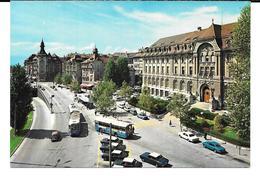 Cpsm Lausanne - La Place Chauderon . ( édit. Marco Danzi & Co). - VD Vaud