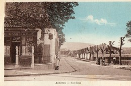 ACHERES ( 77 ) - Rue Seine - France