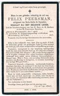 Oorlog : Peersman Felix. ° Waesmunster 1879 † Weilhem (Wurtemberg) 1917  (Krijgsgevangenschap) - Religion & Esotericism