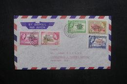 GHANA - Enveloppe Pour L 'Allemagne En 1959, Affranchissement Plaisant Surchargés - L 36912 - Ghana (1957-...)