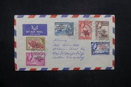 GHANA - Enveloppe Pour L 'Allemagne En 1959, Affranchissement Plaisant Surchargés - L 36913 - Ghana (1957-...)